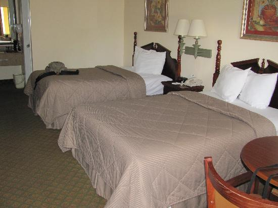 Quality Inn Crystal River: Room with two beds