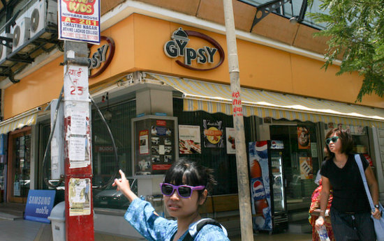 Gypsy Restaurant: Perfect lunch choice on Jodhpur's downtown shopping street.