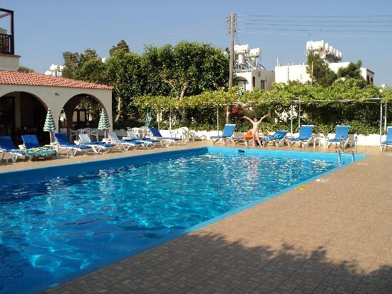 Chrysland Hotel : At the pool