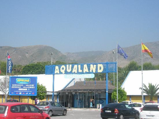 Aqualand Torremolinos: Eingang