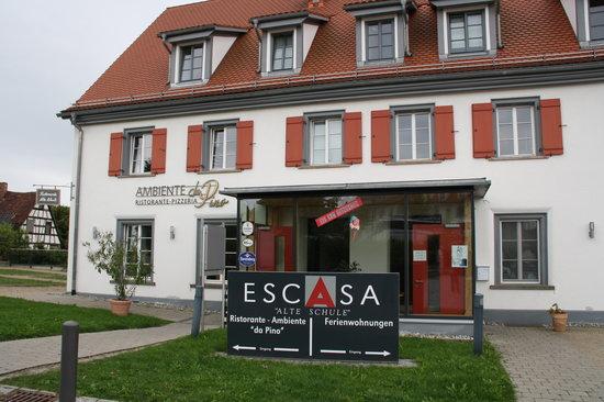 Heiligenberg-Steigen, Allemagne : resto italien
