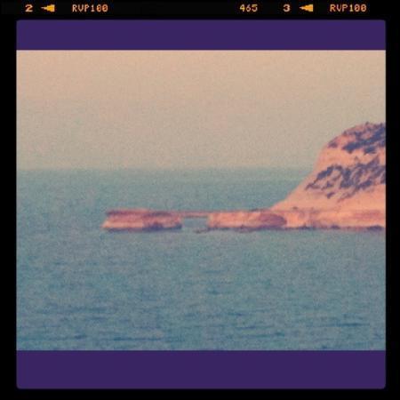 Santa Martha Hostel : Felsen an der Marsalforn Bay
