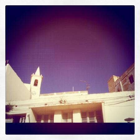 Santa Martha Hostel : Kirche in Marsalforn