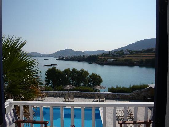 Paros Bay Hotel : vue depuis la chambre