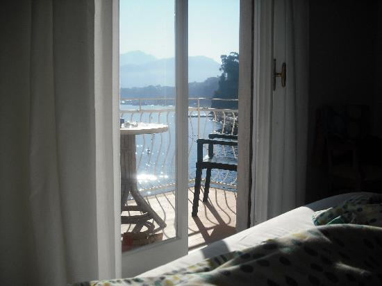 Hotel Admiral Sorrento : View from our bed !