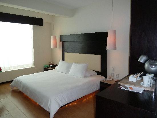 Hotel El Punto: stanza
