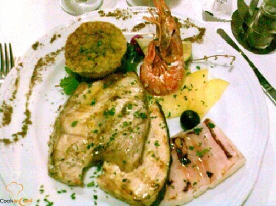 Nilosira Osteria e B&B: Grigliata di pesce