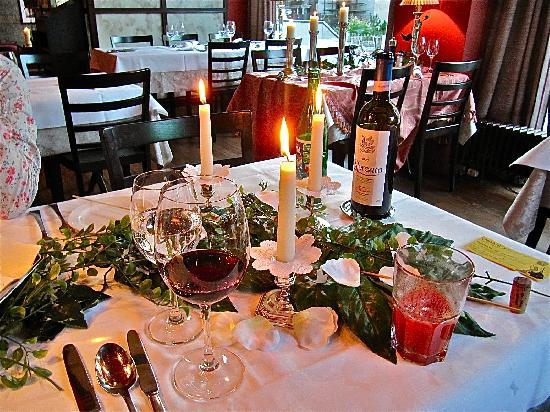 Hotel Misani : Das Candlelight Dinner