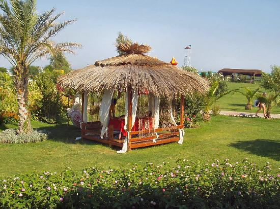 Kaya Belek Hotel: The massage hut
