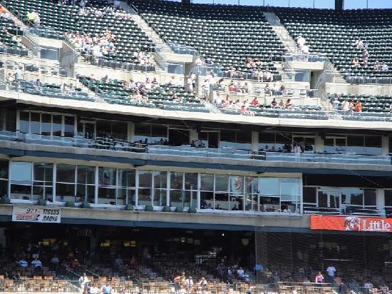 This Is The Press Boxnicknamed The Ernie Harwell Media Center The