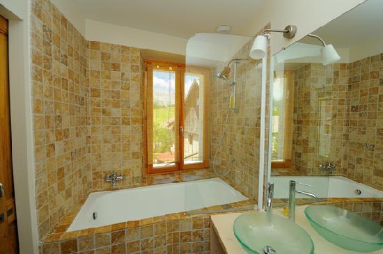 L'Auberge Buissonniere: Salle de bain