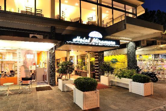 Ingresso Hotel Miramare et de la ville