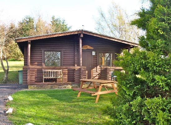 Fram Park: 1 bed room log cabin