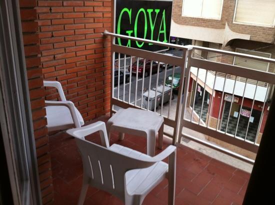 Goya Hotel de Alicante: balcony