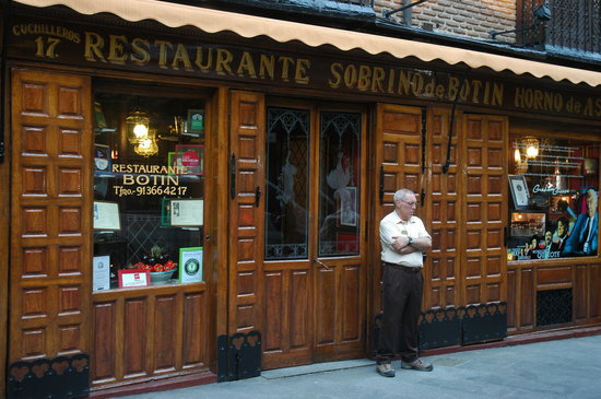 Restuarant Botin: The Restaurant