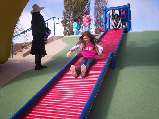 Dennis the Menace Park : roller slide