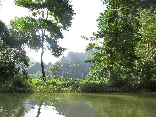 Khao Sok Las Orquideas Resort: Canoe Trip