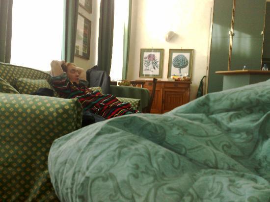 Residence Jecna: room green