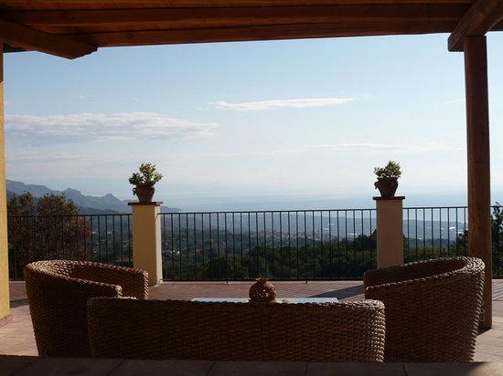 Casa Gallida: Vue de la terrasse de la chambre Presa