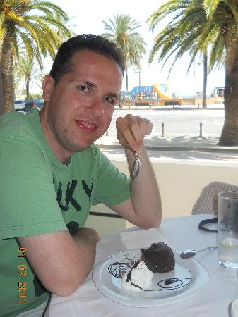 Hotel Athene: chocolate dessert