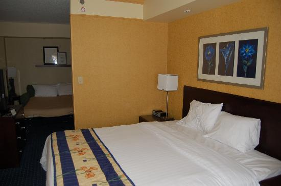 SpringHill Suites Pittsburgh North Shore : King bed suite