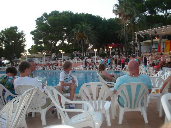 Sun Club Eldorado: Entertainment in the evnings