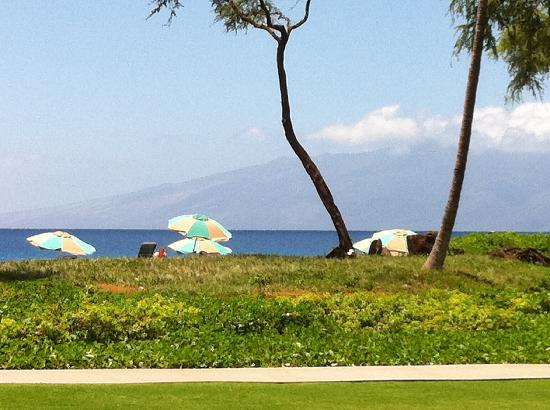 The Westin Kaanapali Ocean Resort Villas: View from one of the restaurants