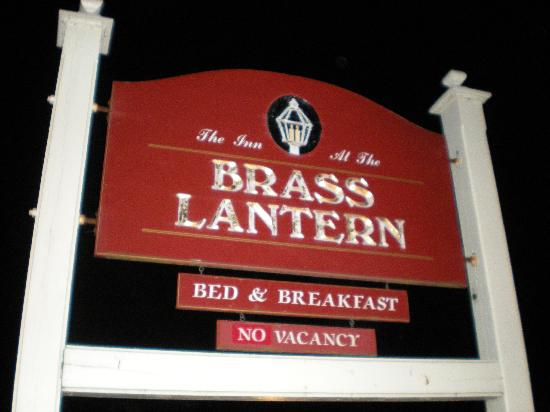 Brass Lantern Inn: Welcome to the Brass Lantern!