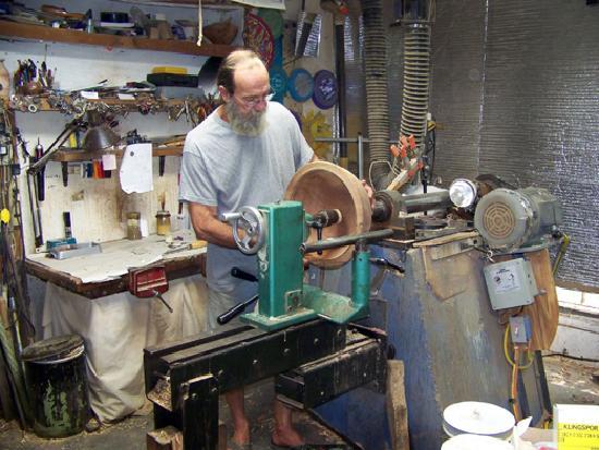 Hopkinsville, KY: Watch Master Wood-Turner, Paul Ferrell, at Brushy Fork Creek Studio & Gallery