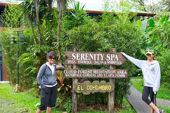 Villa Blanca Cloud Forest Hotel and Nature Reserve: Spa