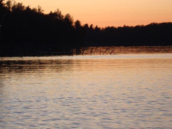Lawrence, Estado de Nueva York: View from the South End of Lake Ozonia