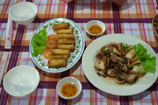 Areca restobar: Dishes
