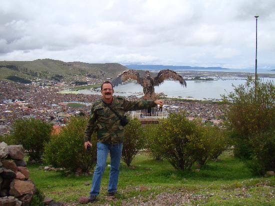 Hostal Helena Inn: Puno - La ciudad desde el mirador El Condor