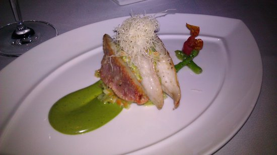 The Reflexions at The Athenee Hotel: red mullet