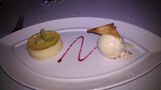 The Reflexions at The Athenee Hotel: lime tart