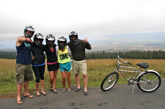 Maui Easy Riders: half way down.