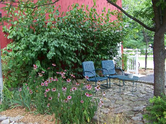Inn at Harbour Ridge Bed and Breakfast: We spent hours just sitting here & relaxing