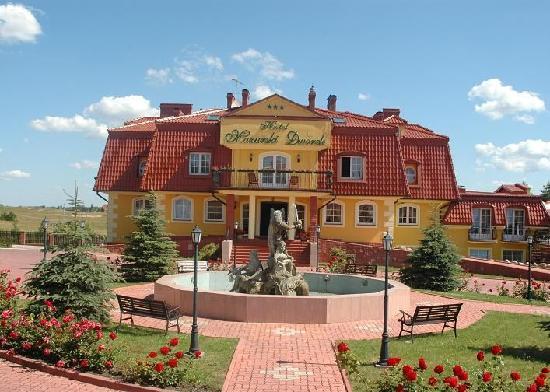 Hotel Mazurski Dworek : Front view