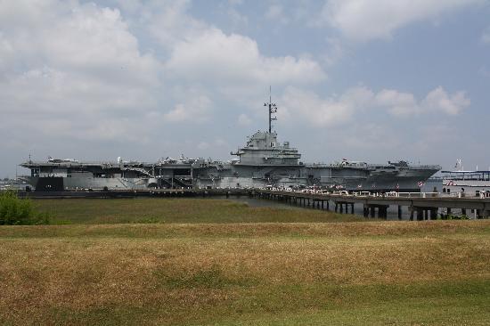 Patriots Point Naval & Maritime Museum : USS Yorktown