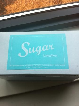 Sugar Bakeshop: box with sweet goodies