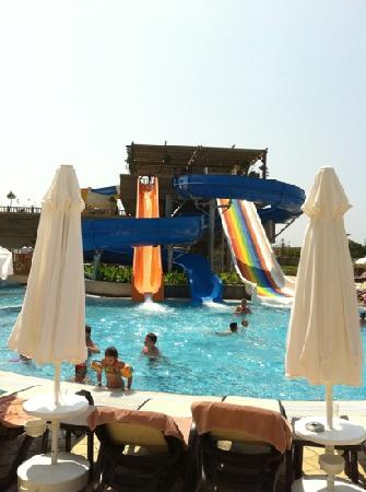 Crystal Palace Luxury Resort & Spa: slides - best thing about it