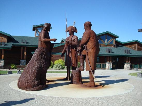 The North Dakota Lewis & Clark Interpretive Center