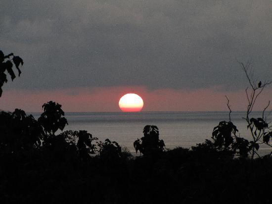 Hotel Luna Azul: Sunset from Luna Azul