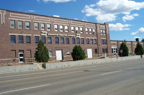 Bnsf Depot - Picture Of Glendive  Montana