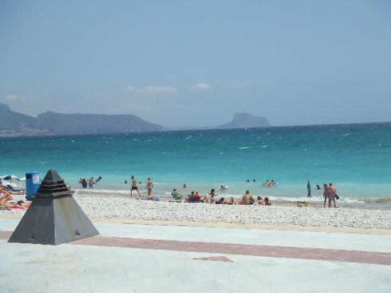 Albir Garden Resort : Albir beach