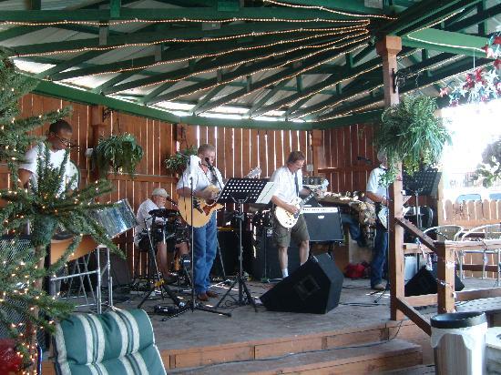 Duck Creek RV Park : Highway 630 Band entertaining July 2011