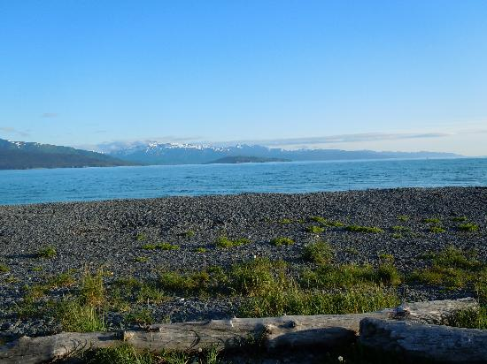Homer Spit Campground: Looking out