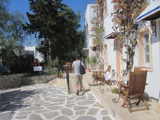 Hotel Çomca Manzara: Allés vers les chambres