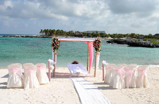 Grand Sirenis Riviera Maya Resort & Spa: beach used for wedding