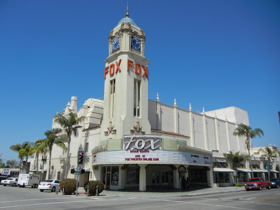 Bakersfield, Kalifornia: Fox Theater Exterior